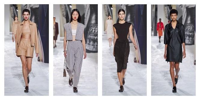 Hermès весна-лето 2021: все образы из новой женской коллекции