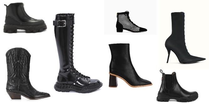 20 пар идеальных черных ботинок