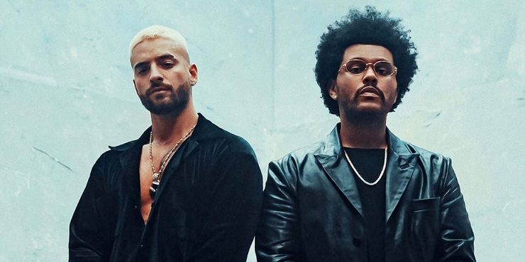 The Weeknd и Maluma выпустили совместный трек