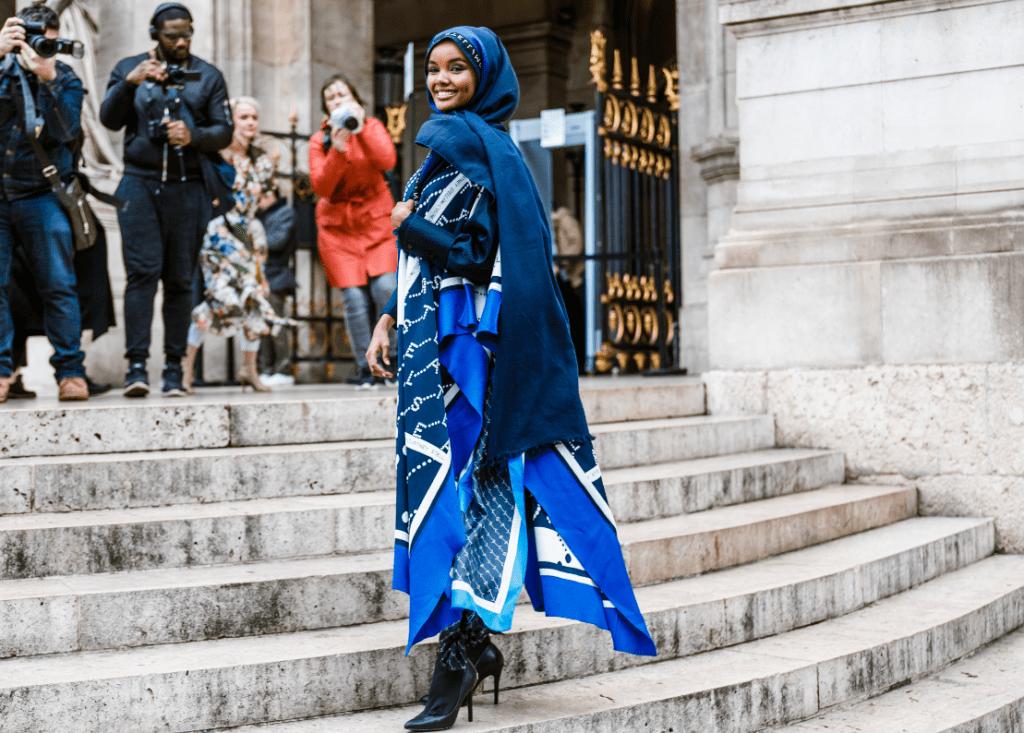 первая модель в хиджабе