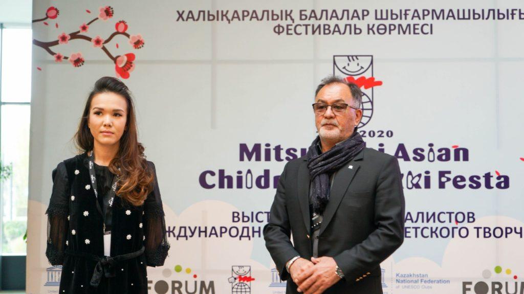 В Алматы состоялось открытие выставки работ победителей Enikki Festa