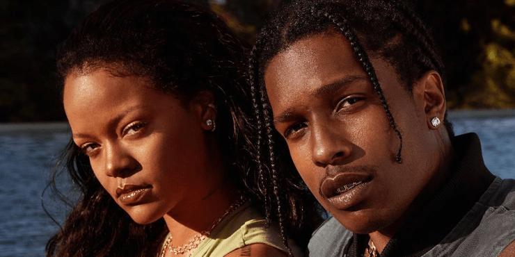 Неужели A$AP Rocky решился засватать Рианну?