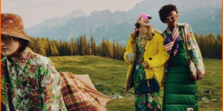 В поход: первый взгляд на коллаборацию Gucci х The North Face