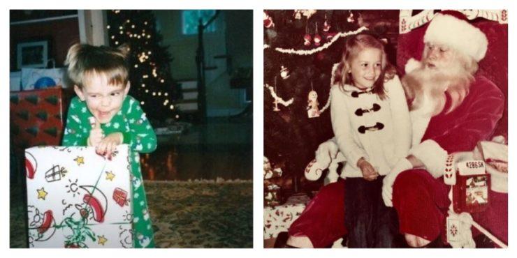 Новогодние снимки из детства знаменитостей