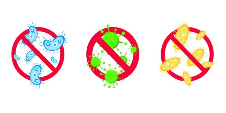 При какой температуре погибают вирусы и как избавиться от бактерий и микробов?