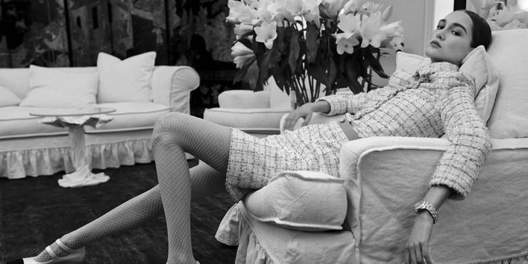 Как прошло «семейное воссоединение» во время кутюрного показа Chanel?