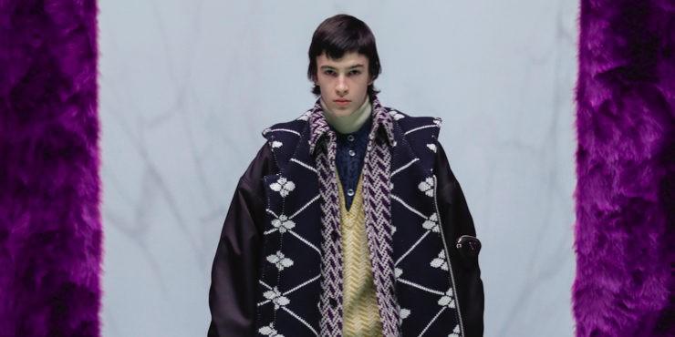 Как прошел показ мужской коллекции Prada осень — зима 2021?
