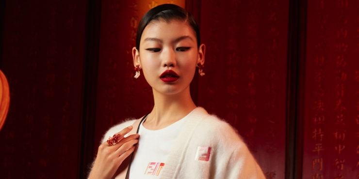 Fendi встречают китайский Новый год капсульной коллекцией