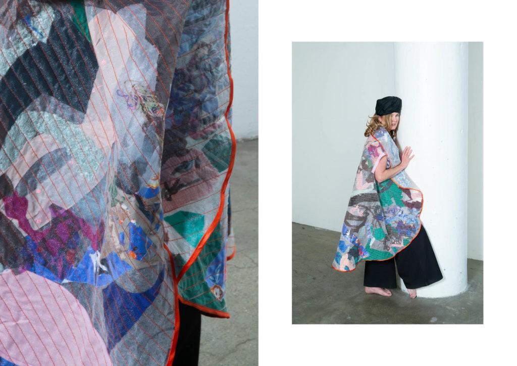 Первый взгляд на лукбук новой коллекции казахстанского бренда AIKEN