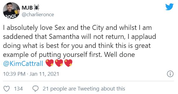 Ким Кэттролл отреагировала на продолжение