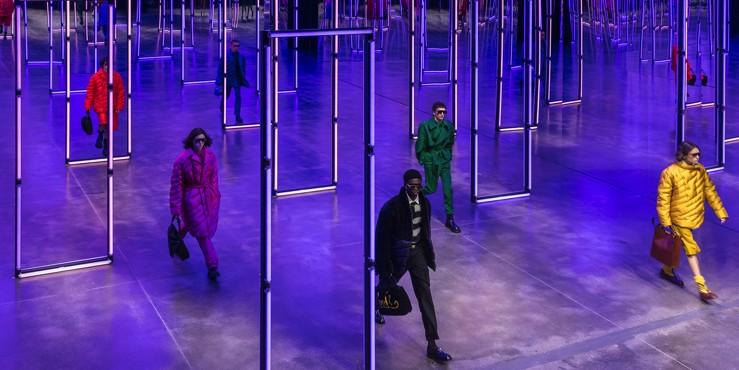Первый взгляд на мужскую коллекцию Fendi осень — зима 2021