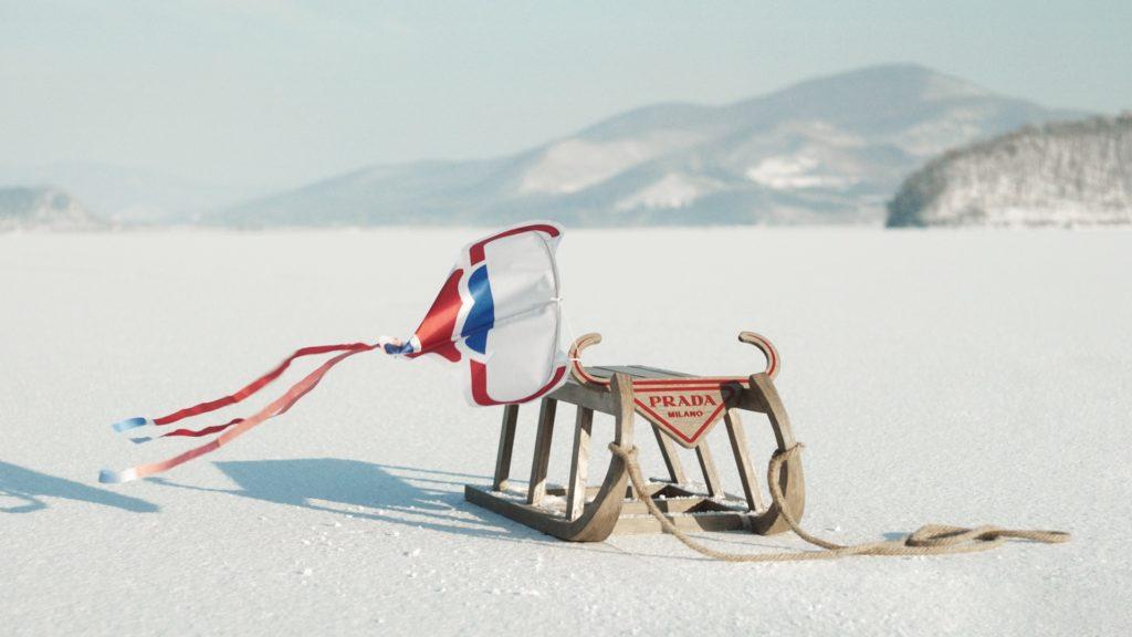 Марка Prada празднует Новый год в свежем кампейне