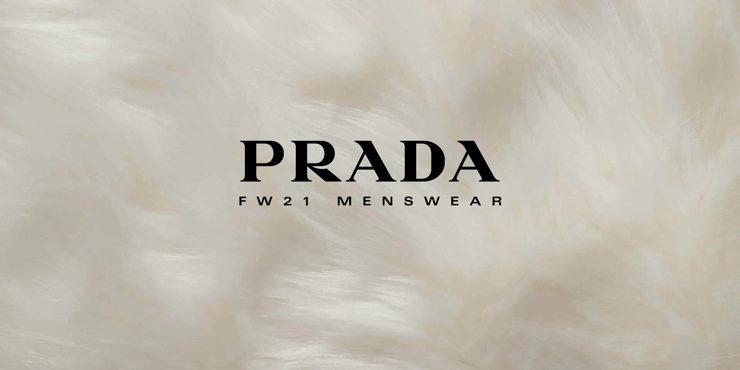 Где можно посмотреть показ новой мужской коллекции Prada?
