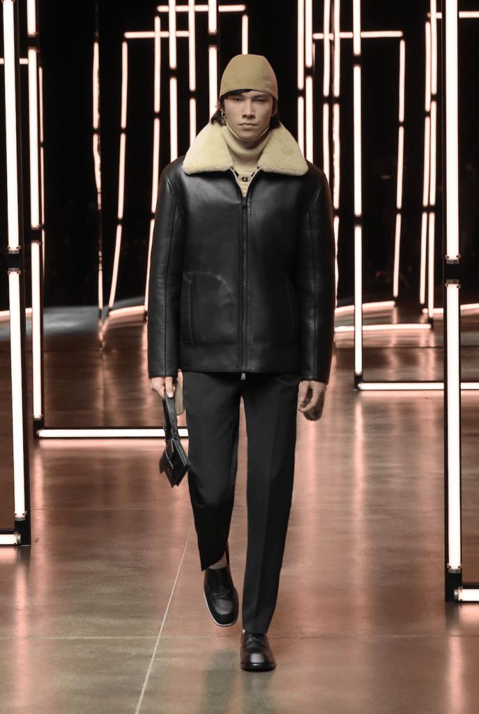 Первый взгляд на мужскую коллекцию Fendi осень - зима 2021
