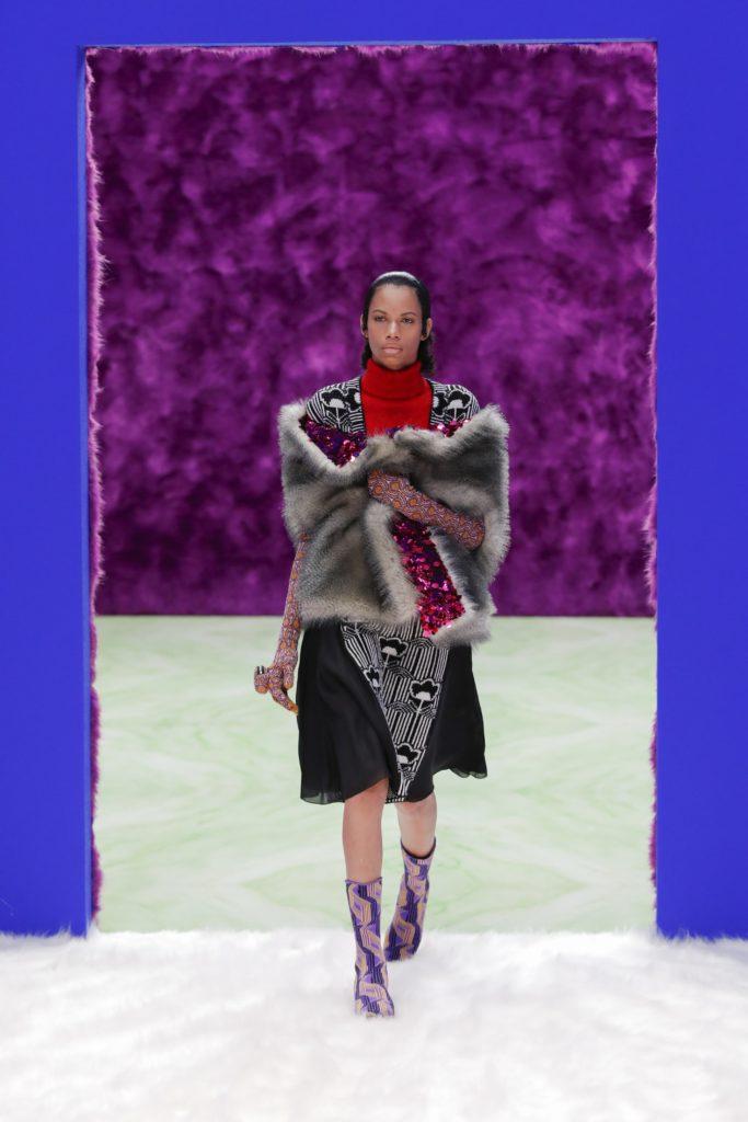 Чем запомнился показ женской коллекции Prada сезона осень-зима 2021?
