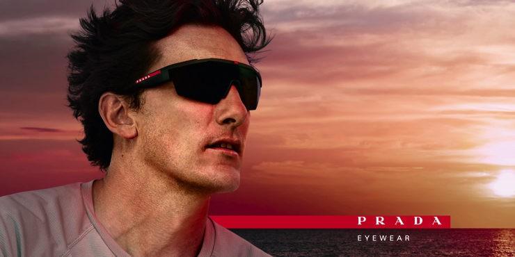 Prada представили новую рекламную кампанию очков
