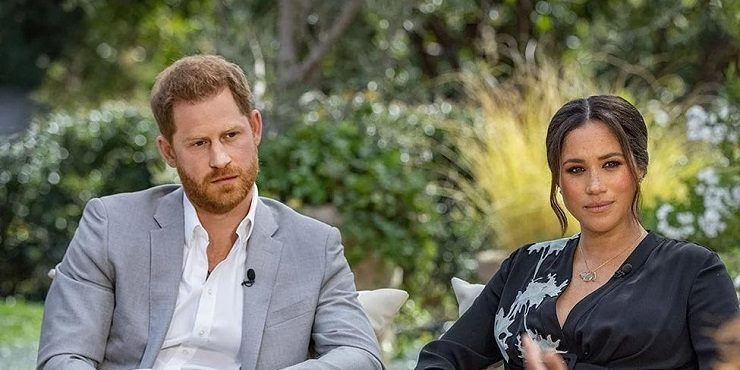 Язык жестов: о чем говорят телодвижения Меган и Гарри во время интервью?