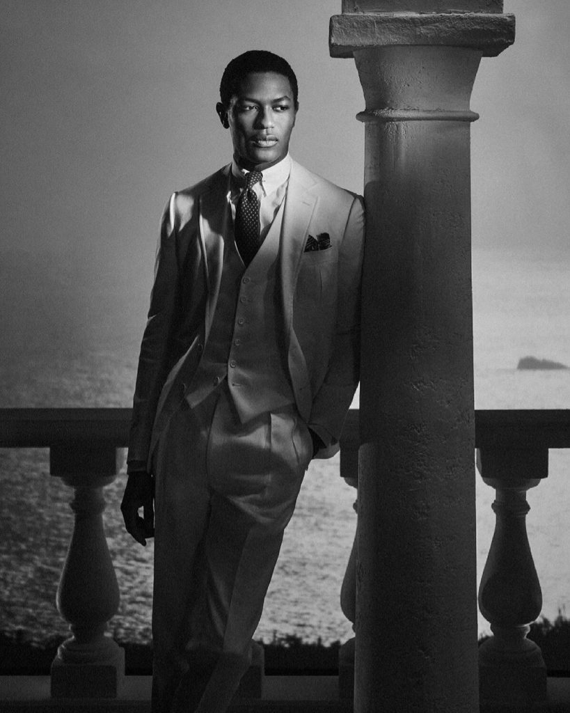 Черно-белое кино: новая коллекция Ralph Lauren весна-лето 2021