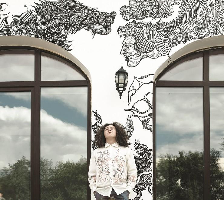 Линия как Вселенная: Между Прошлым и Будущим, выставка художника Адиля Аубекерова в Foundry by Emaar, Downtown Dubai