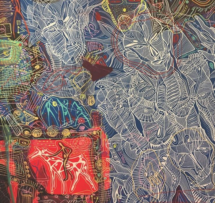 выставка художника Адиля Аубекерова