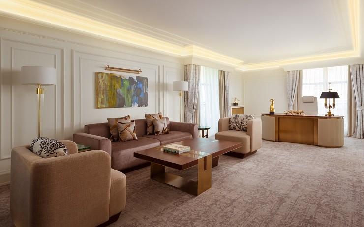 Обновленные номера и люксы в The Ritz-Carlton, Moscow