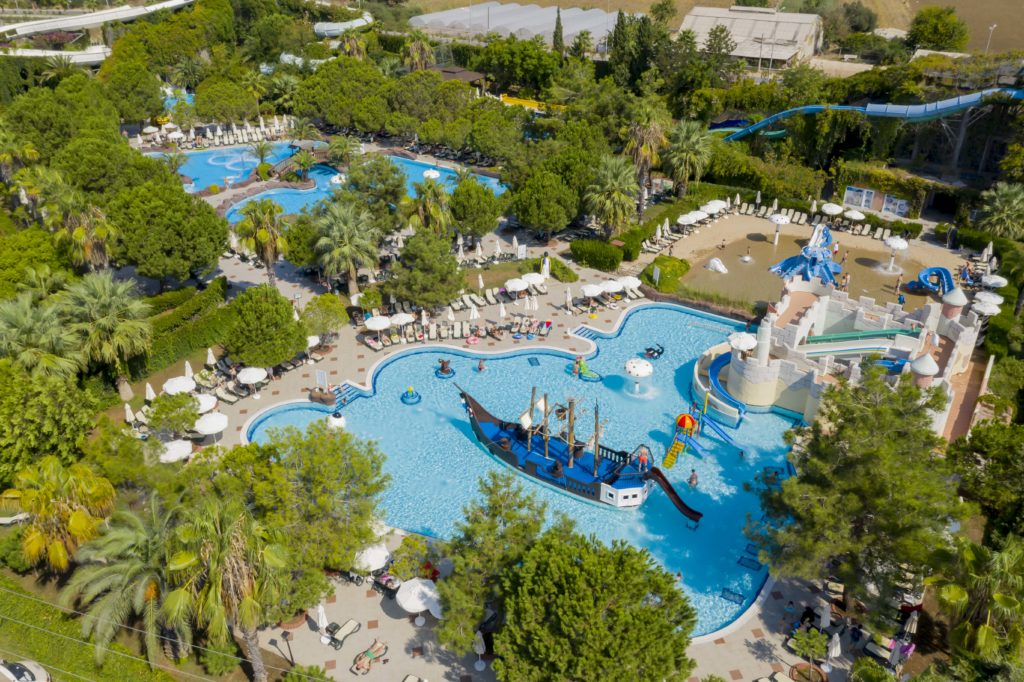 В радости и безопасности в Ali Bey Hotels & Resort