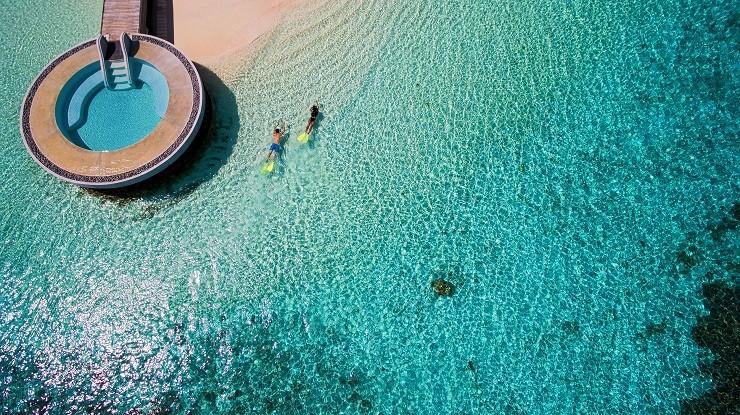 Иммерсивные ужины в подводном ресторане Latitude 4° на Мальдивах
