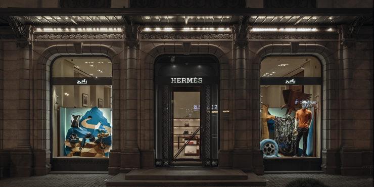 A Human Odyssey: Алматинский бутик Hermès обновил витрины