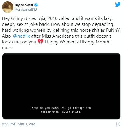 Тейлор Свифт против Netflix: по какой причине вспыхнул скандал?