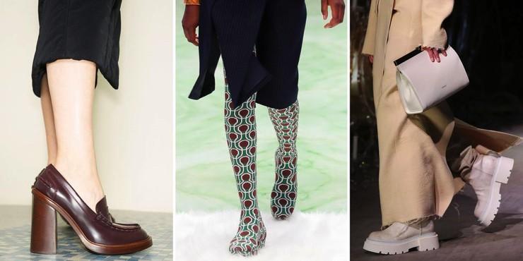 Тренды обуви: что представили топовые дизайнеры?