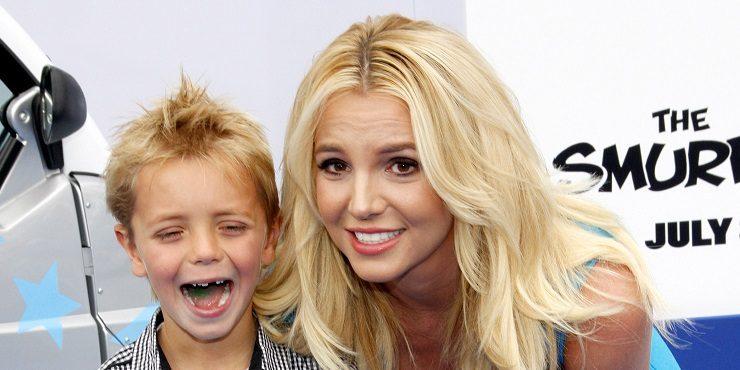 Как выглядят подросшие сыновья Бритни Спирс?