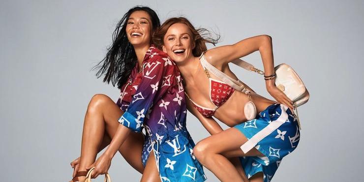 Louis Vuitton представили рекламную кампанию летней коллекции