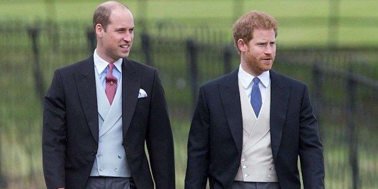 Принц Гарри и принц Уильям согласны помириться?