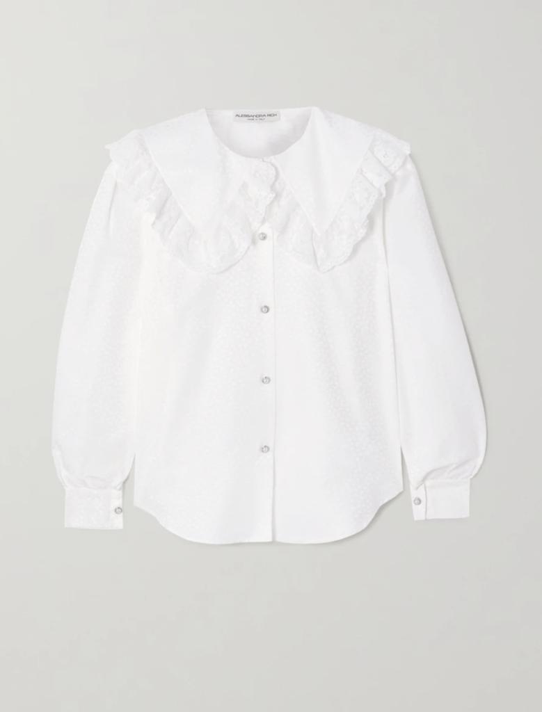 Тренд сезона: Самые стильные рубашки с отложным воротником