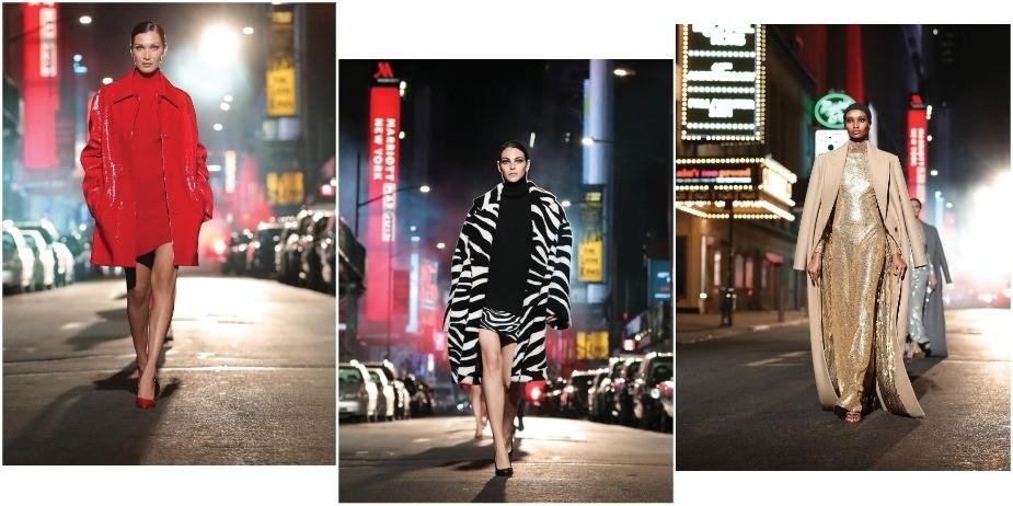 Юбилейный показ Michael Kors в центре Нью-Йорка: как это было?