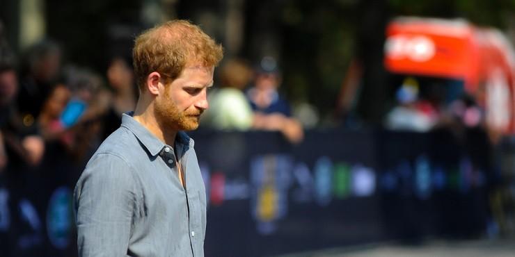 Как принц Гарри почтил память покойного деда?