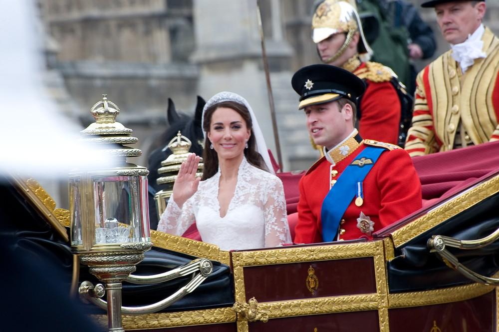 Автомобиль Кейт Миддлтон и принца Уильяма