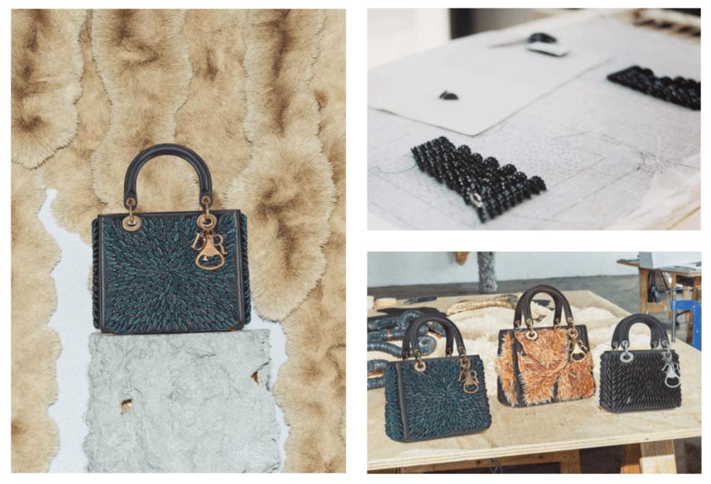 In art we trust: Сумка Lady Dior как произведение искусства