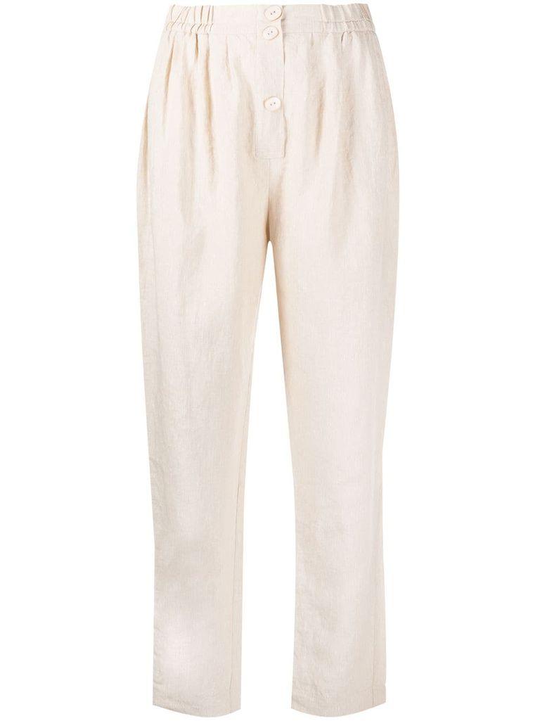 Самые стильные льняные брюки, которые спасут в жаркую погоду