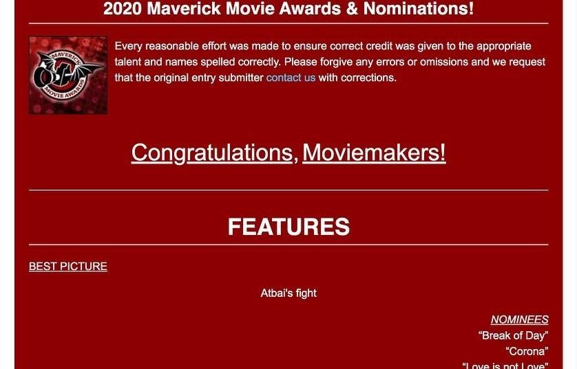 Казахстанский фильм «Бой Атбая» признан лучшим на фестивале кино в США
