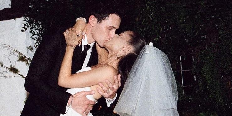 Свадьба Арианы Гранде: певица показала снимки с тайной церемонии