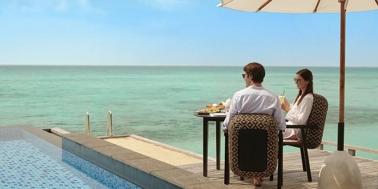 УДАЛЕНКА: специальное предложение от отеля Fairmont Maldives Sirru Fen Fushi