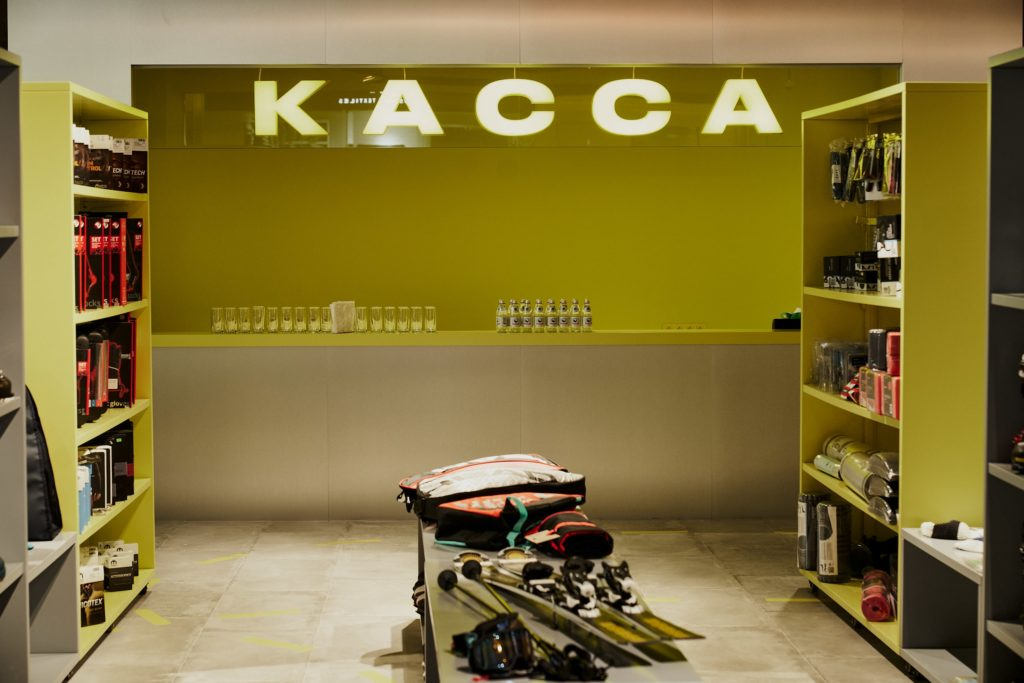 Открытие нового пространства Sport Kultura в Esentai Mall