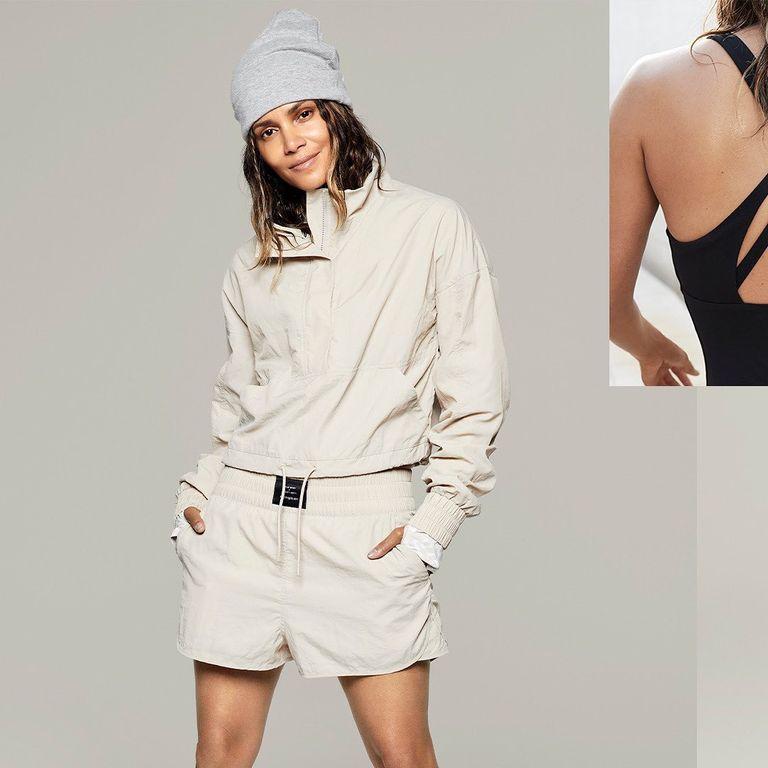 Холли Берри представила коллекцию спортивной одежды
