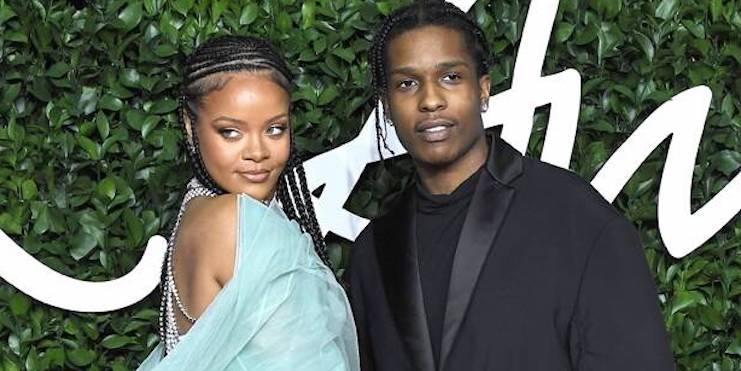 «Она – моя леди»: A$AP Rocky впервые рассказал о романе с Рианной