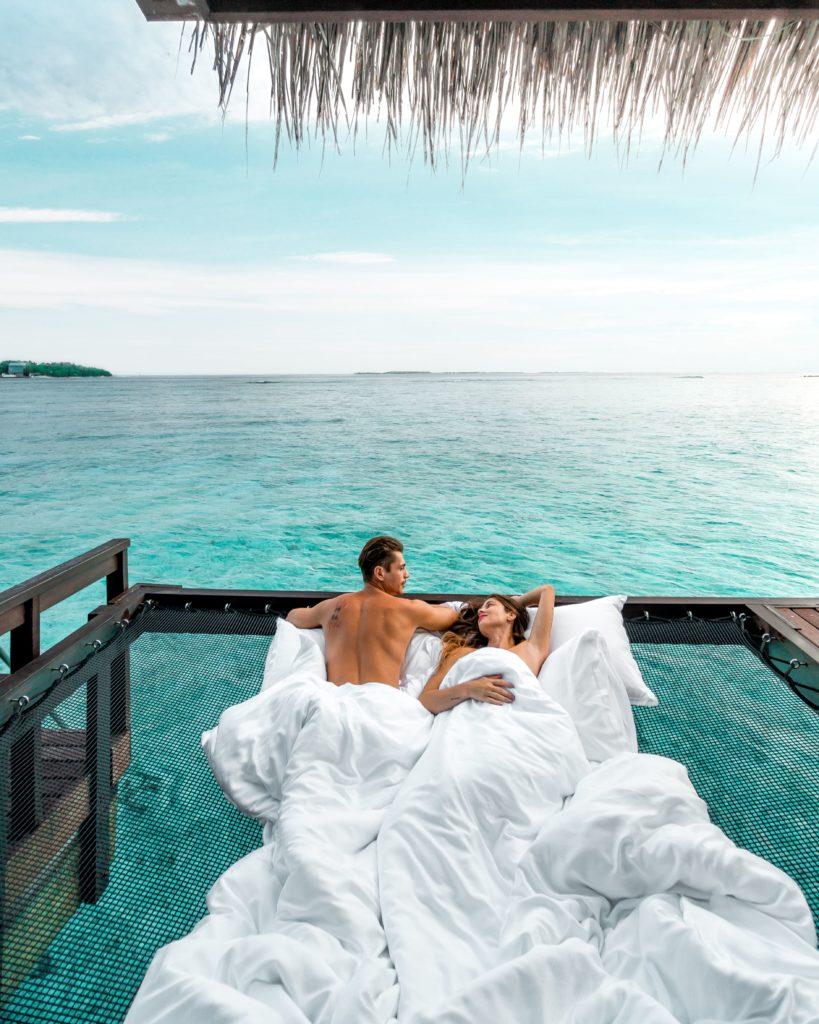 Бежать за солнцем в Sheraton Maldives Full Moon Resort & Spa