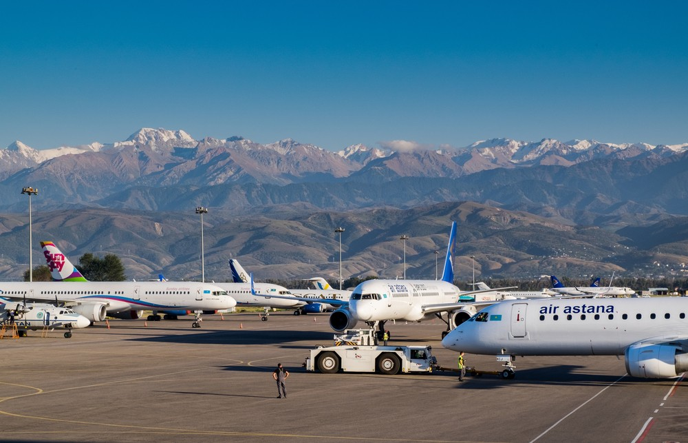авиарейсы из Казахстана