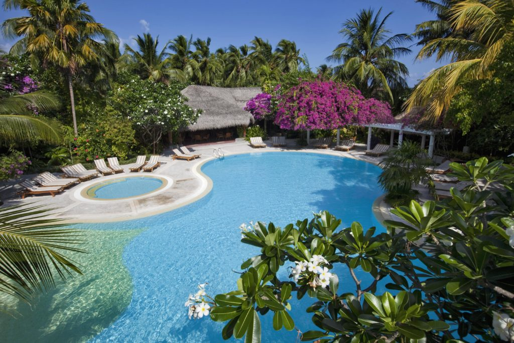 Райские каникулы на экокурорте Kuramathi Maldives