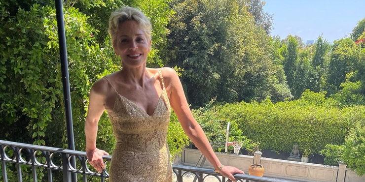 63-летняя Шэрон Стоун показала свое тело в бикини