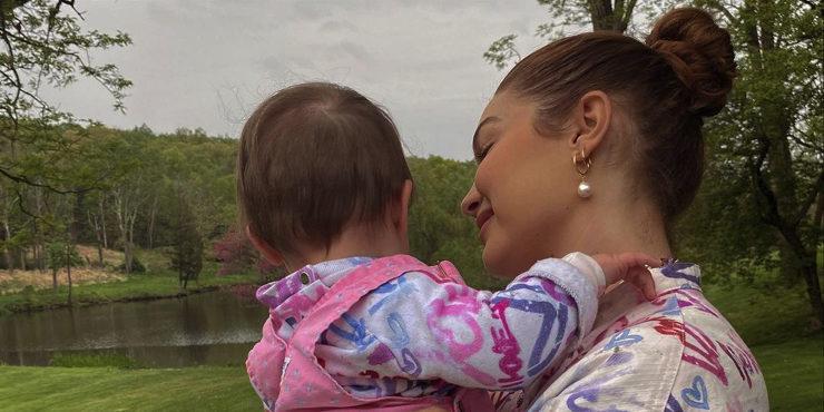 Джиджи Хадид рассказала о воспитании дочери в межнациональной семье